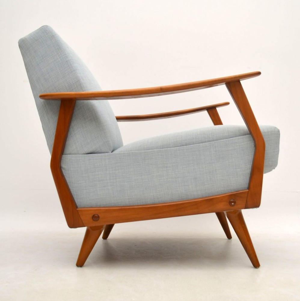 pair of danish retro armchairs vintage 1950 s retrospective