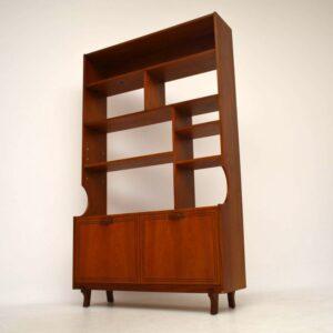 Teak Retro Bookcase / Cabinet / Room Divider Vintage 1960'S