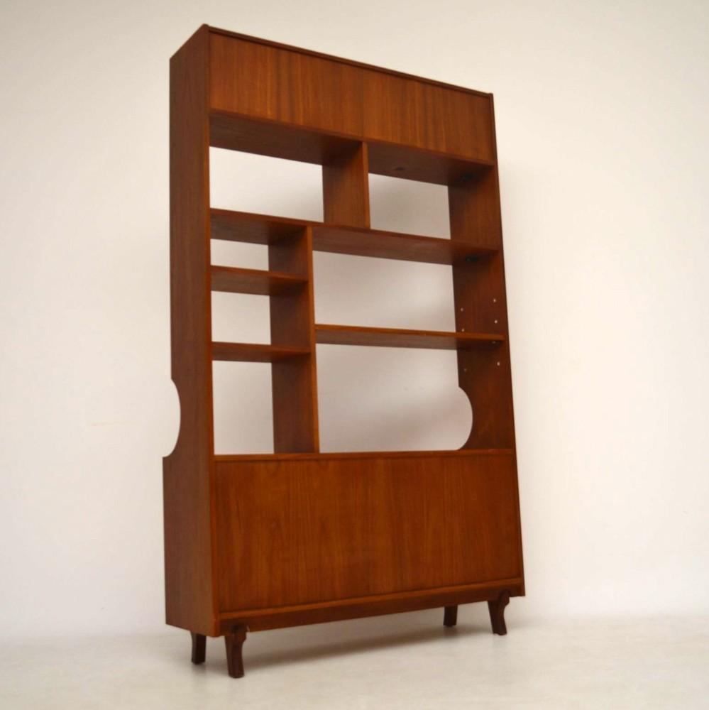 Teak Retro Bookcase / Cabinet / Room Divider Vintage 1960