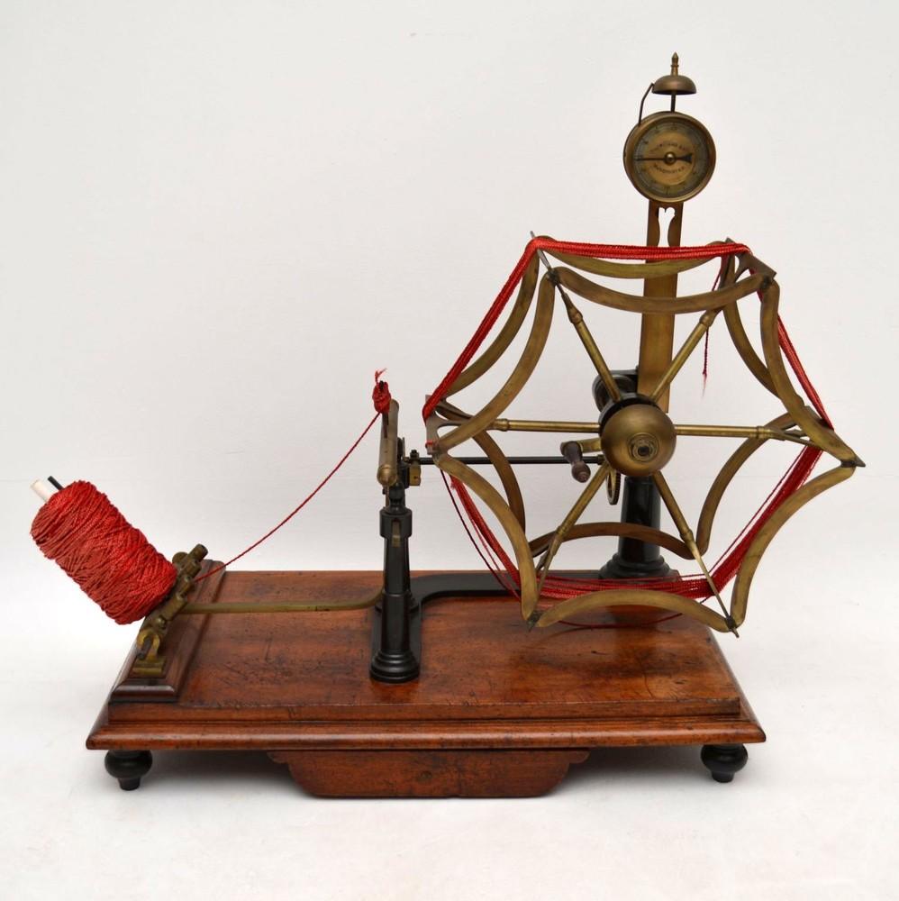 Antique Victorian Yarn Strength Testing Machine