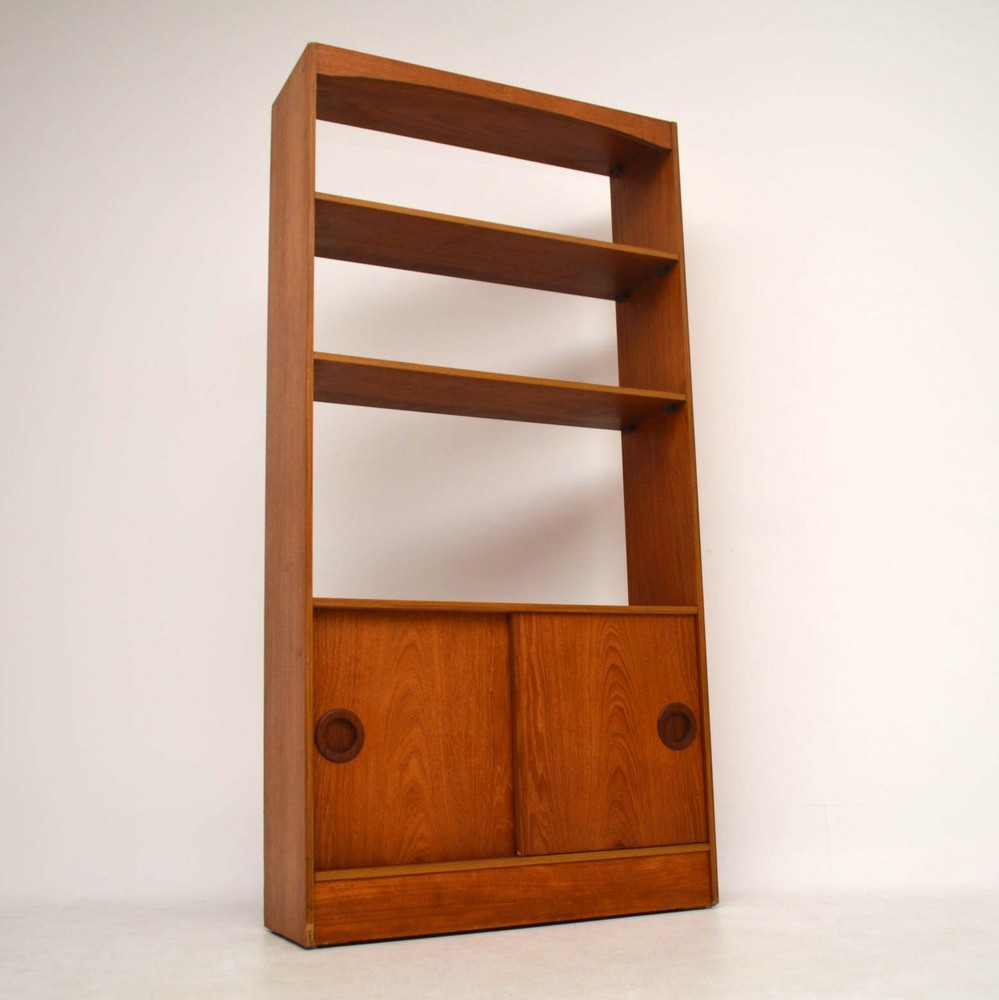 hundevad and by bookcase co large teak