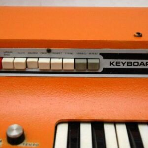 Retro Skyline Rhythm Unit Keyboard Synthesiser - GIS Production - Vintage 1970's