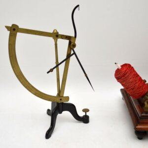 Antique Victorian Brass Yarn Scale