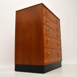 Art Deco Burr Maple Chest of Drawers Vintage 1920's