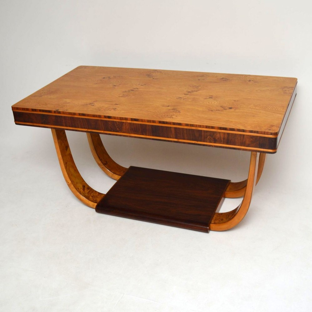 art deco burr maple rosewood dining table vintage 1920 s art deco burr maple rosewood dining table vintage 1920 s