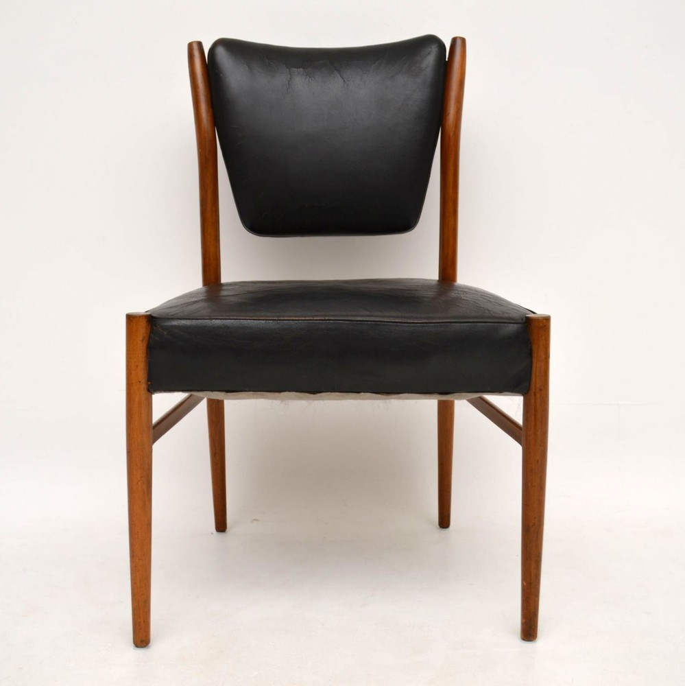Danish Retro Leather Chair Vintage 1960 S Retrospective