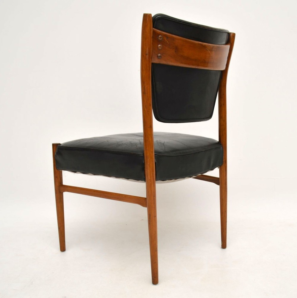 Danish Retro Leather Chair Vintage 1960 S Retrospective Interiors Vintage