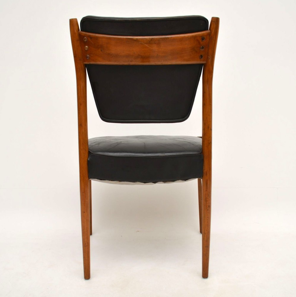 Danish Retro Leather Chair Vintage 1960 S Retrospective
