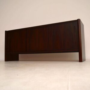Danish Retro Rosewood Sideboard by Interform Collection Vintage 1970's