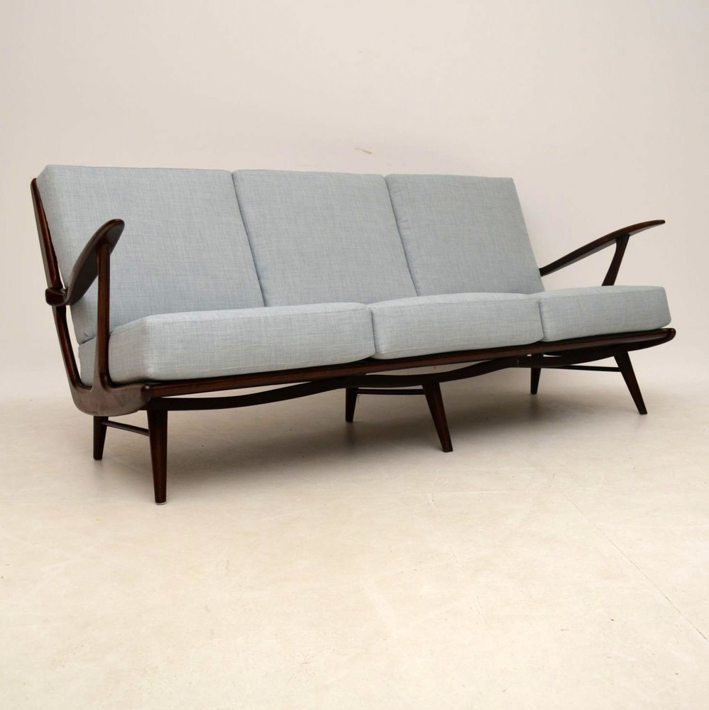 Danish Retro Sofa Vintage 1950 S