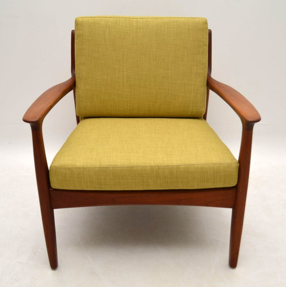 Danish Retro Teak Armchair Vintage 1960's | Retrospective ...