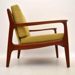 Danish Retro Teak Armchair Vintage 1960's