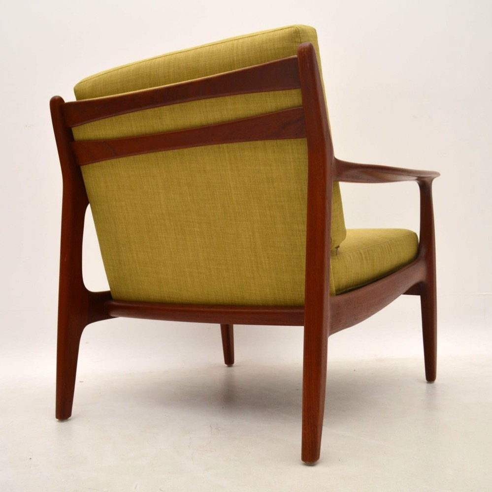 Danish Retro Teak Armchair Vintage 1960 S Retrospective