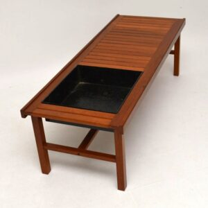 Danish Retro Teak Coffee Table / Bench / Planter Vintage 1960'S