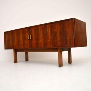 Danish Rosewood Sideboard by Arne Vodder Vintage 1960's