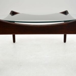 Danish Rosewood Retro Coffee Table by Kristian Solmer Vedel
