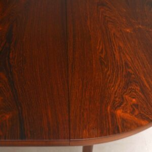 Danish Rosewood Retro Dining Table Vintage 1960'S