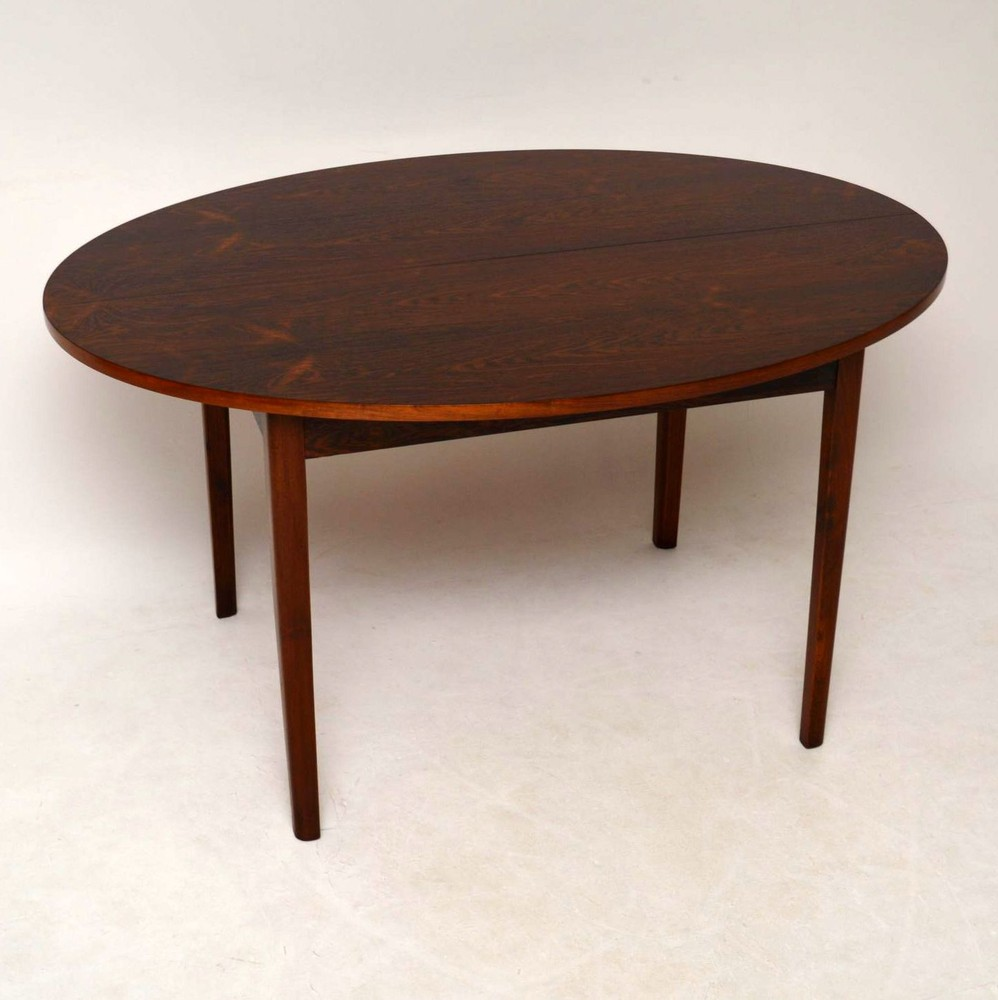 Danish Rosewood Retro Dining Table Vintage 1960 S Retrospective Interiors Vintage Furniture