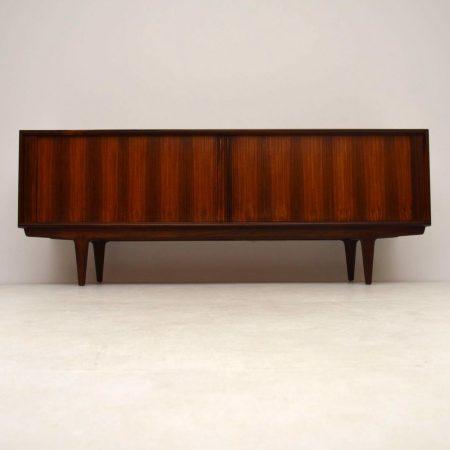 Danish Rosewood Retro Sideboard By Bernhard Pedersen