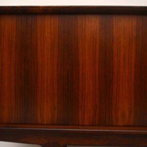 Danish Rosewood Retro Sideboard by Bernhard Pedersen Vintage 1960's