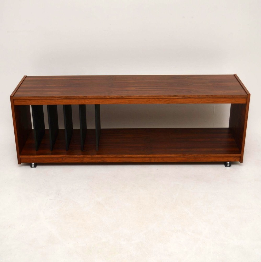 Danish Rosewood Retro Sideboard / Record Cabinet / T.V Stand ...