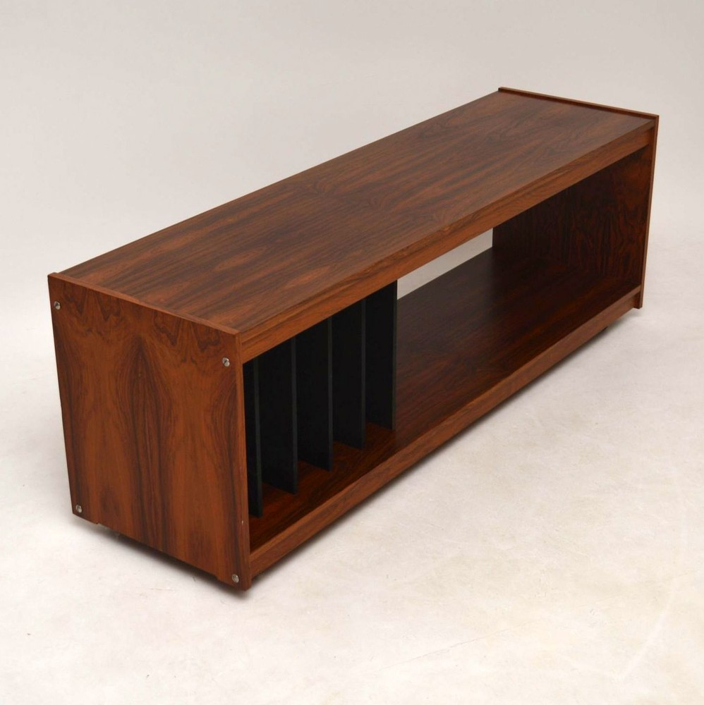 Danish Rosewood Retro Sideboard Record Cabinet T V