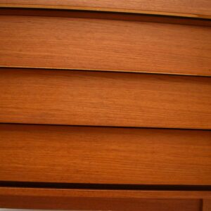 Danish Teak Retro Chest of Drawers by Fredericia Vintage 1960's