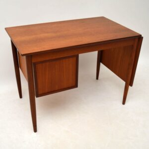Danish Teak Retro Desk by Arne Vodder Vintage 1960's