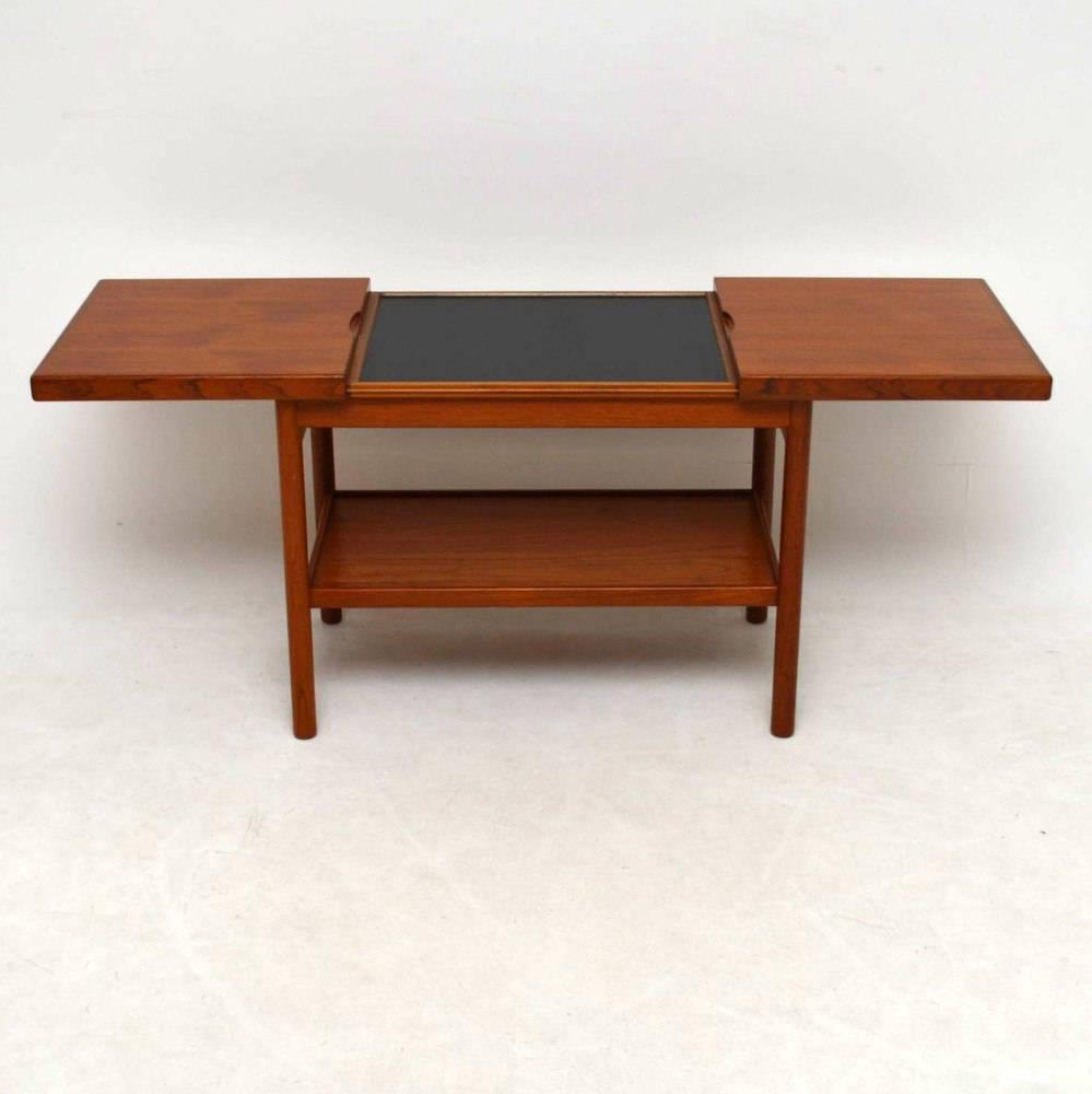 Danish Teak Retro Side Table Vintage 1960 S
