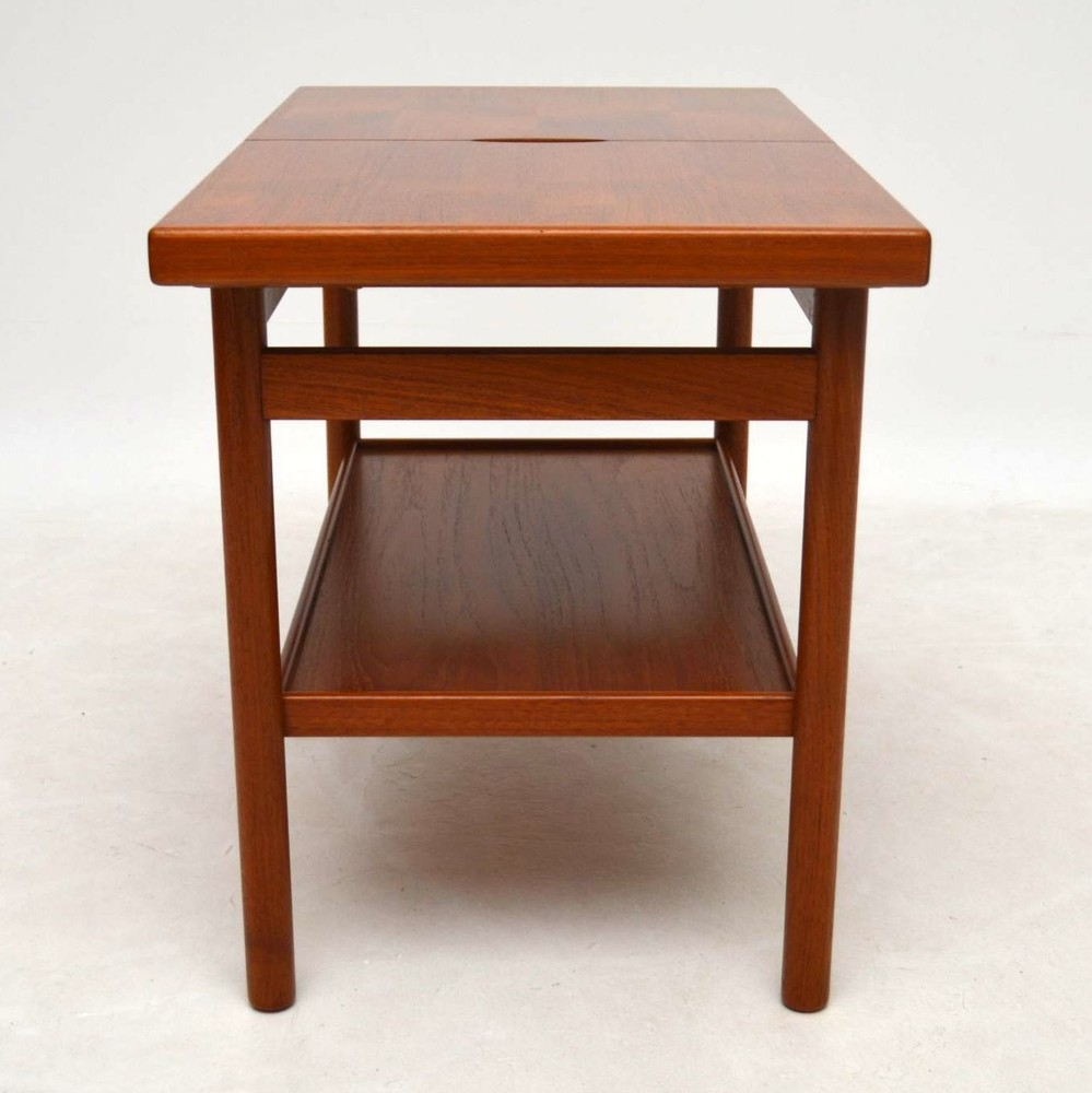 Danish Teak Retro Side Table Vintage 1960 S