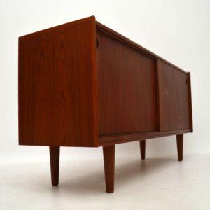 Danish Teak Sideboard by Arne Hovmand-Olsen for Mogens Kold Vintage 1960's