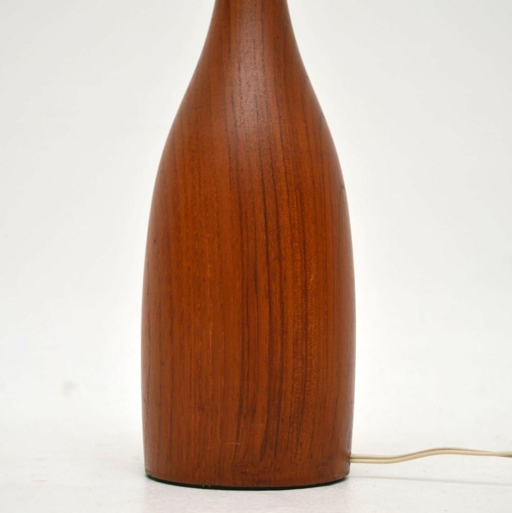 Danish teak table desk lamp vintage 1960s retrospective danish teak table desk lamp vintage 1960s aloadofball Images