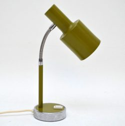 Italian Retro Desk Lamp Vintage 1960's