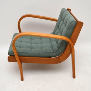 Pair of Retro Swedish Armchairs Vintage 1950's