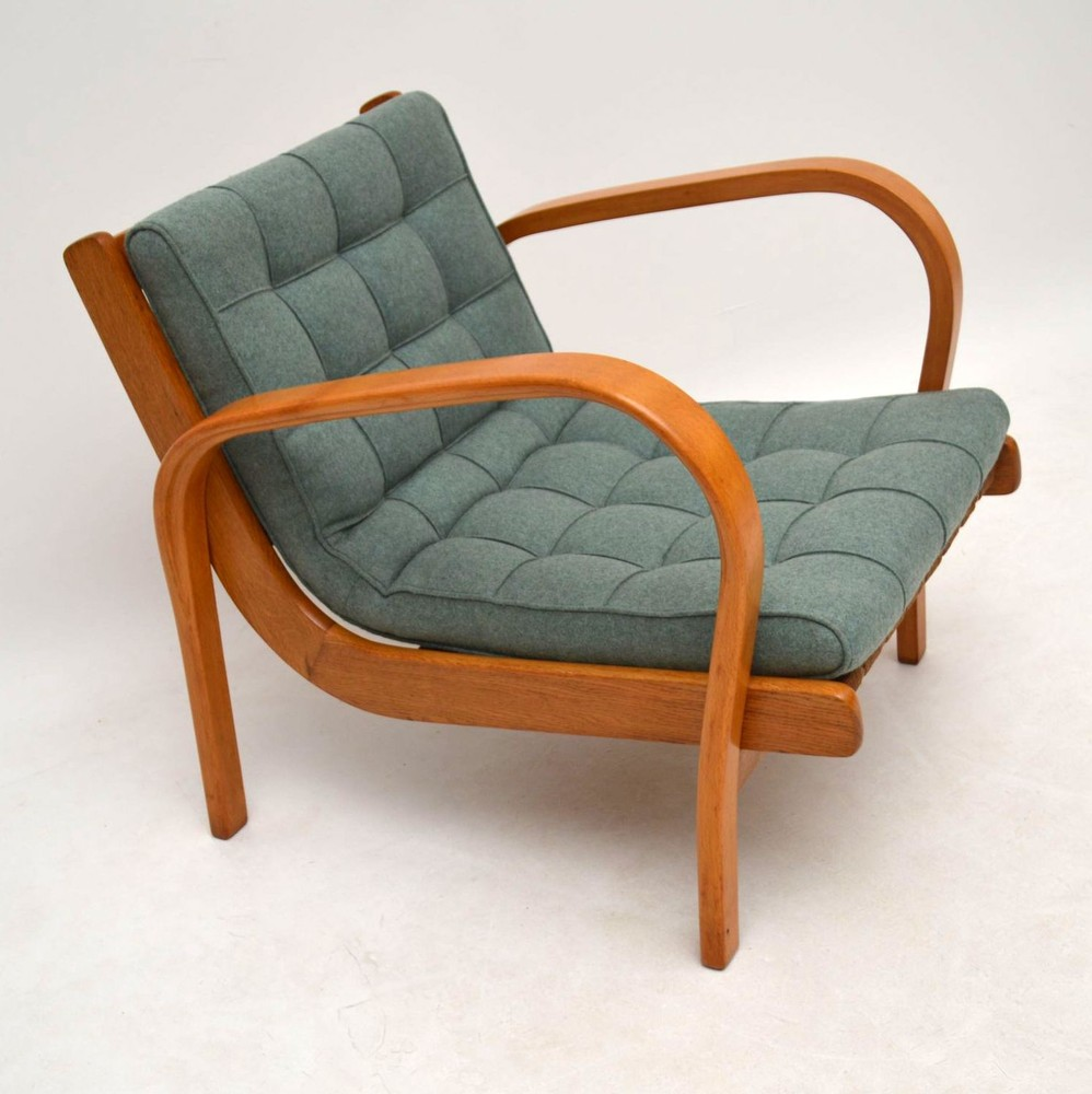 Pair of Retro Swedish Armchairs Vintage 1950's ...