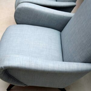 Pair of Retro Danish Armchairs Vintage 1950's
