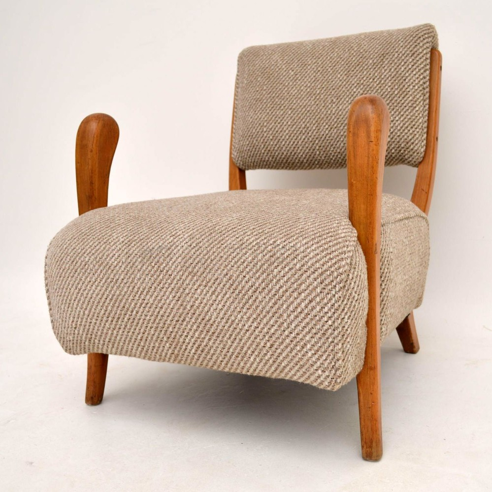 Retro Armchair by Jacques Groag Vintage 1950's ...