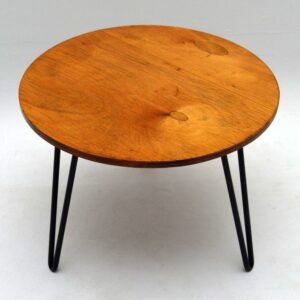 Retro Coffee Table On Hairpin Legs Vintage 1950'S