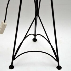 Retro Colourful Woven Iron Lamp Vintage 1960's