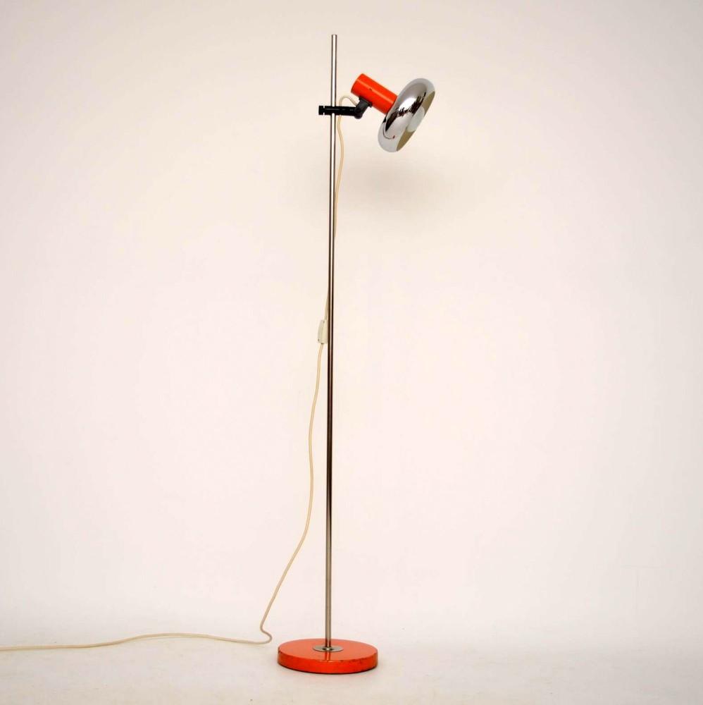 Retro Danish Rise & Fall Lamp Vintage 1960's