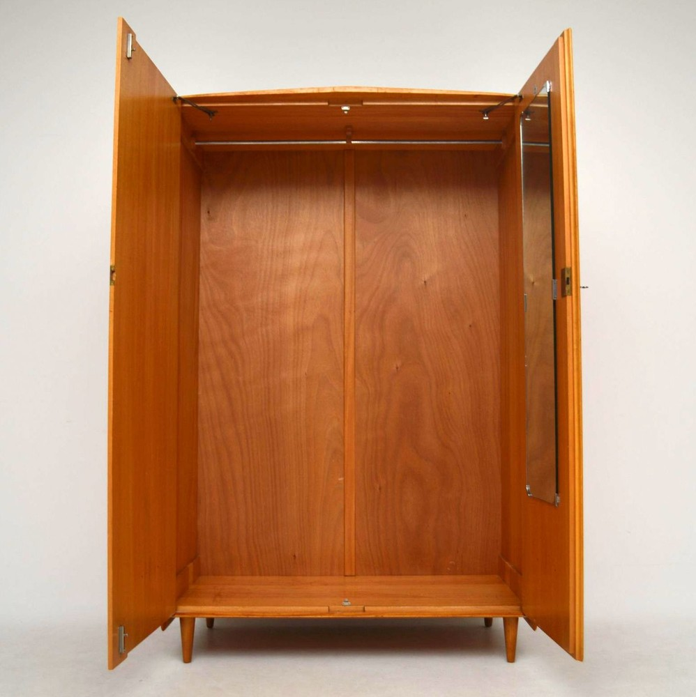 Retro Elm Wardrobe By Maple Amp Co Vintage 1950 S