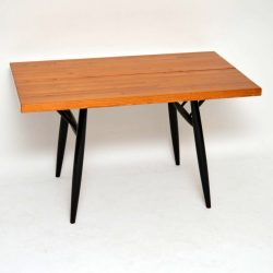 Retro Finnish 'Pirkka' Dining Table By Ilmari Tapiovaara Vintage 1950'S