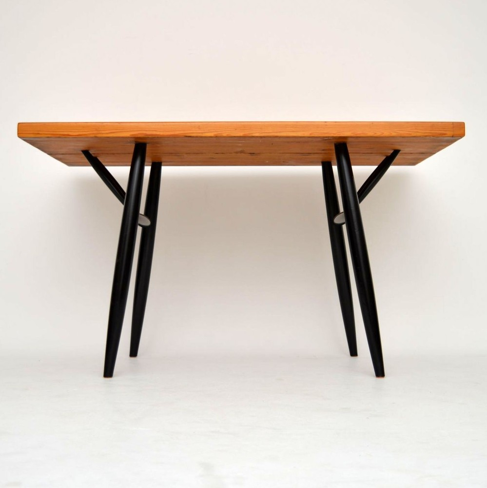 Retro finnish pirkka dining table by ilmari tapiovaara for Retro dining table