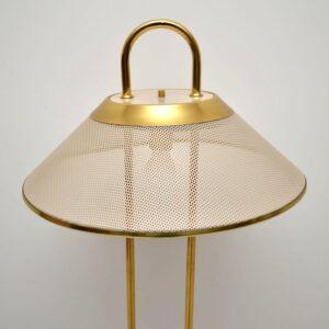 Retro Italian Brass Lamp Vintage 1970's