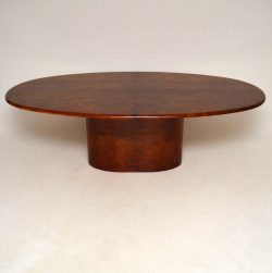 Retro Italian Goat Skin Dining Table By Aldo Tura Vintage 1960'S