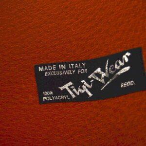 Retro Italian Leather Briefcase Vintage 1960'S