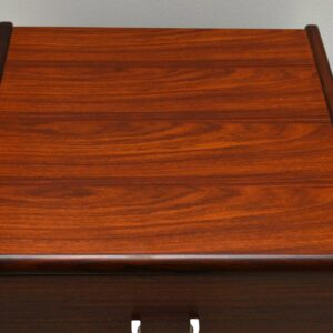 Retro Rosewood Chest of Drawers Vintage 1960's