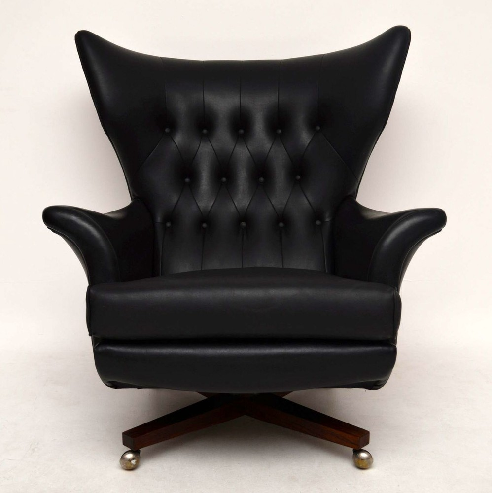 Retro Swivel Rocking Armchair By G Plan Vintage 1960 S