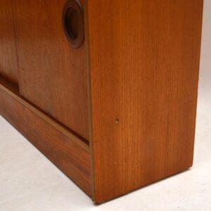 Retro Teak Bookcase / Cabinet Vintage 1960's
