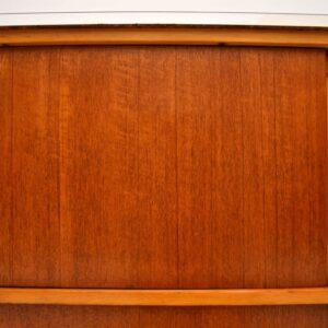 Retro Teak Cabinet / Sideboard by Frank Guille For Kandya Vintage 1950's